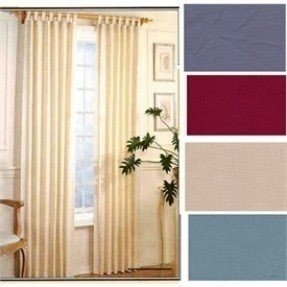 Tab top thermal insulated curtains 8