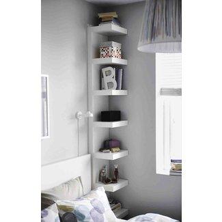 Best Tall Corner Bookshelf