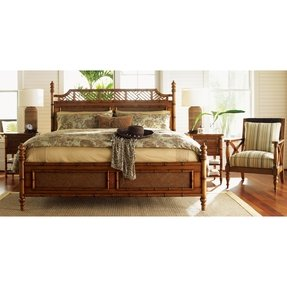 Tommy bahama island estate west indies bed tropical beds furniture