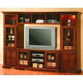Traditional entertainment wall units 27