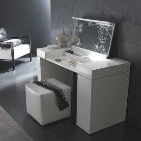 Modern Bedroom Vanity. Vanity table bed bath beyond  SuperOliviaJac 4 The modern bedroom Contemporary Bedroom Sets Foter