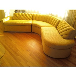 Vintage mid century sectional sofa large like new 2 800