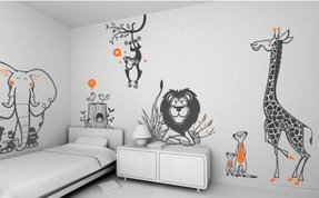 Wall stickers for kids bedrooms