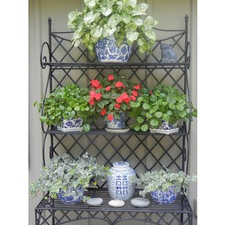 Wrought Iron Bakers Rack Outdoor Ideas On Foter