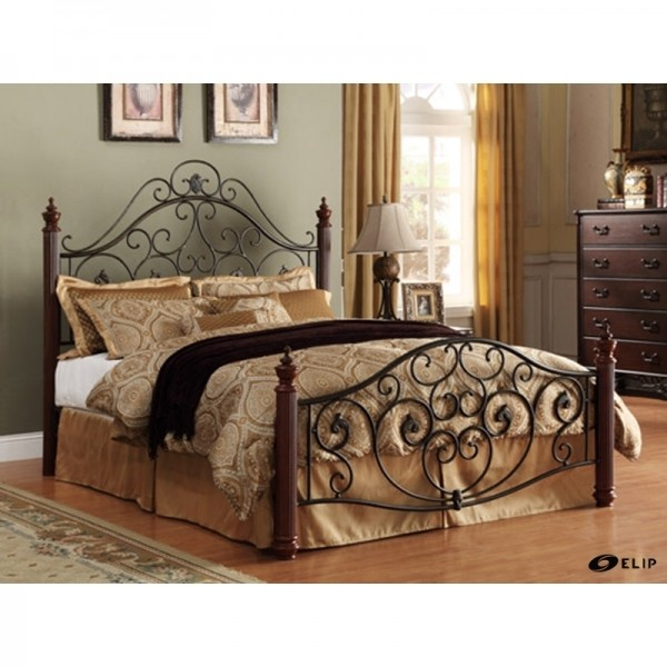 Adison ii queen metal bed