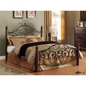 Wood And Wrought Iron Bedroom Sets Ideas On Foter