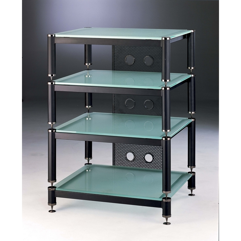 Amp stand audio rack modern home electronics