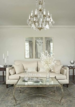 Antiqued Mirrored Coffee Table - Ideas on Foter