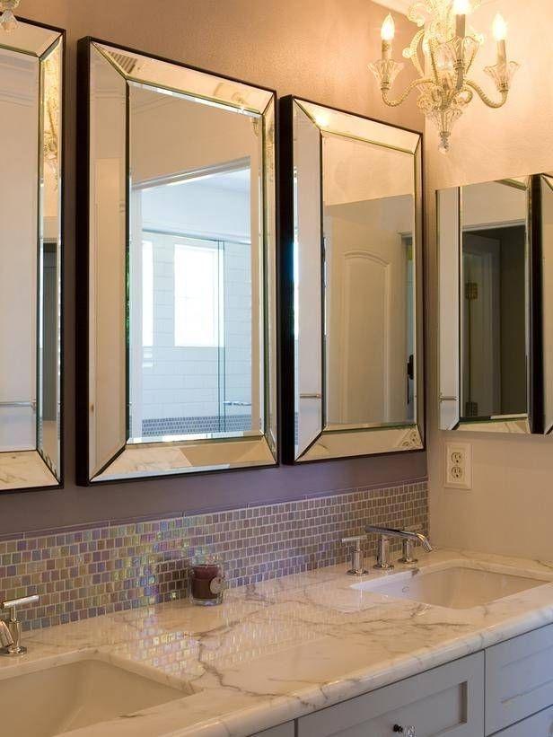 Beveled Mirror Medicine Cabinet 1