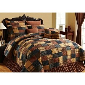 Blue Patchwork Quilts Jenna Delicata 3 Bedding