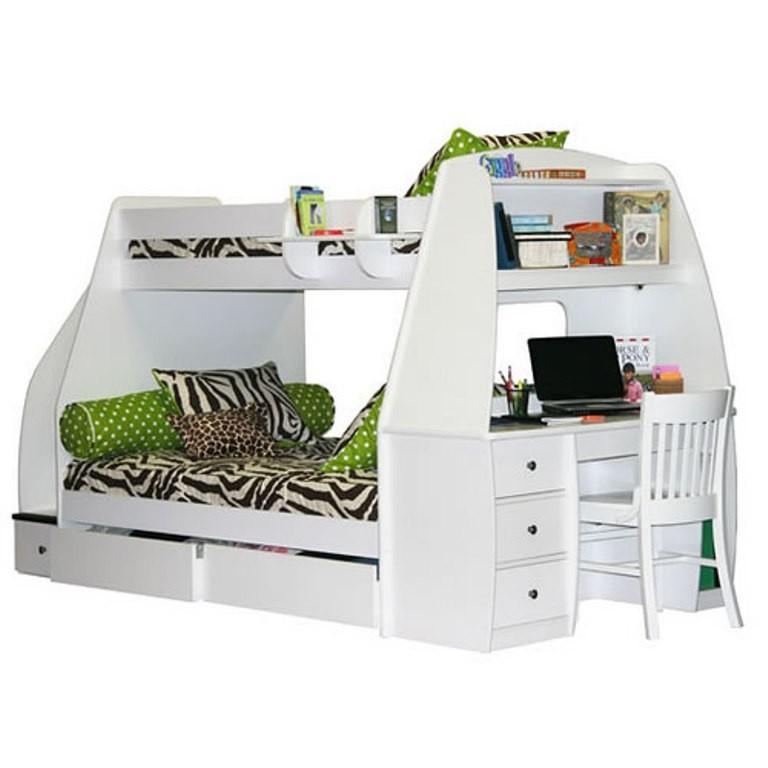 bunk bed computer desk foter rh foter com bunk bed and desk ikea bunk bed and desk plans