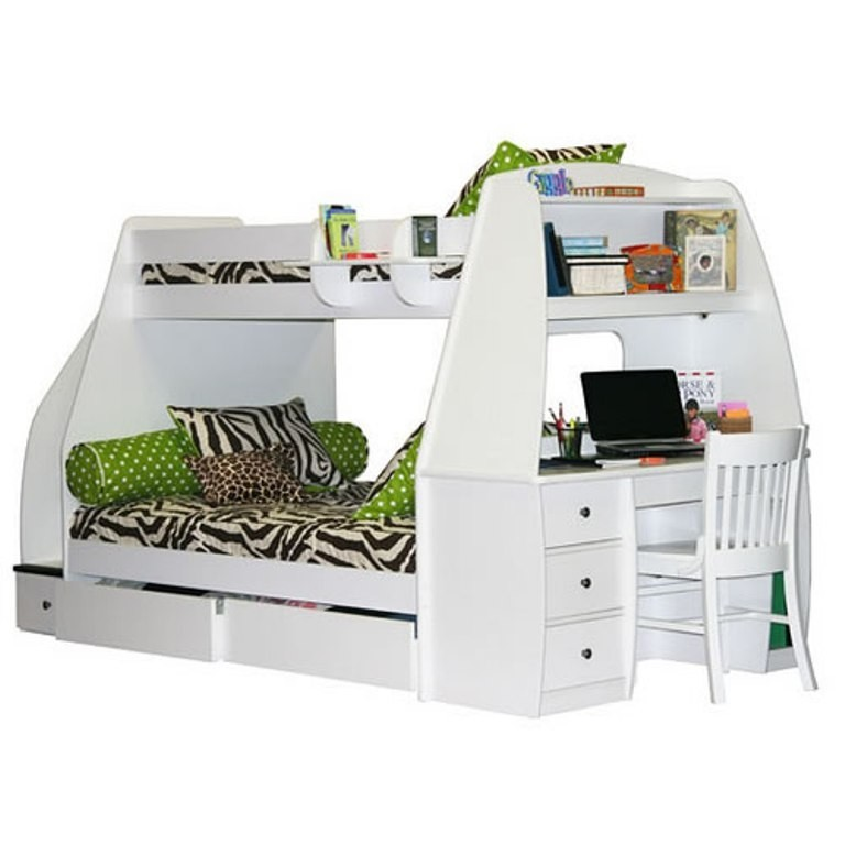 Bunkbed With Desk