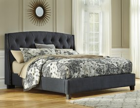 California king upholstered headboard 6