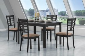 Wood Glass Dining Table Foter