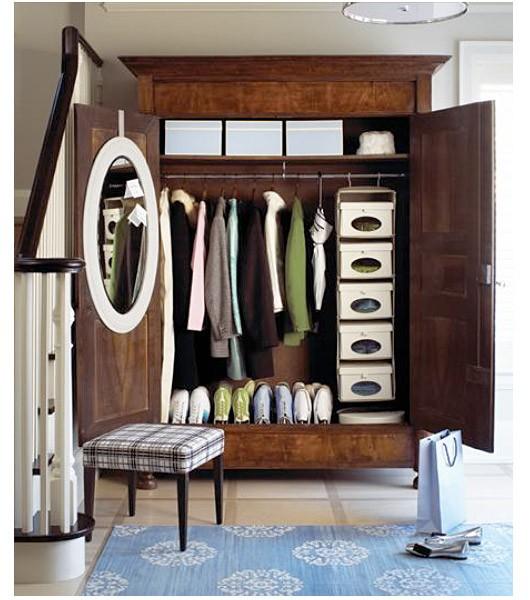 Charmant Coat Closet Armoire