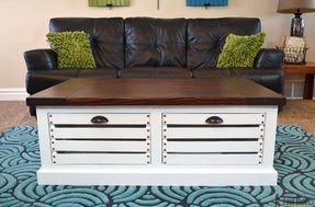 Coffee tables with drawers 6