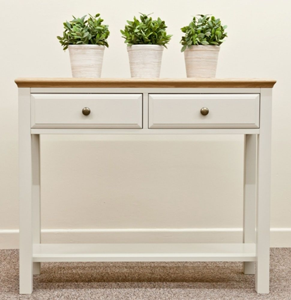 Awesome Console Table With Drawers