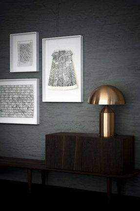 Copper table lamps 14