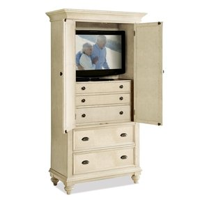 Corner tv armoire with doors