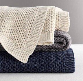 Cotton Knit Blanket Foter