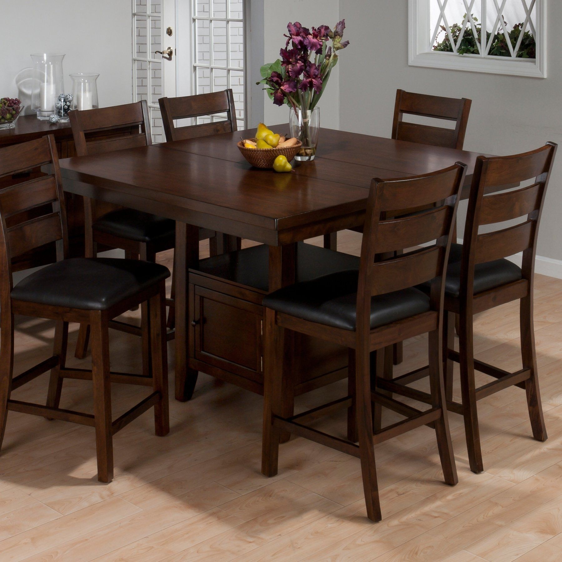 High Quality Counter Height Table Sets With Storage
