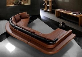 Curved sectionals sofas