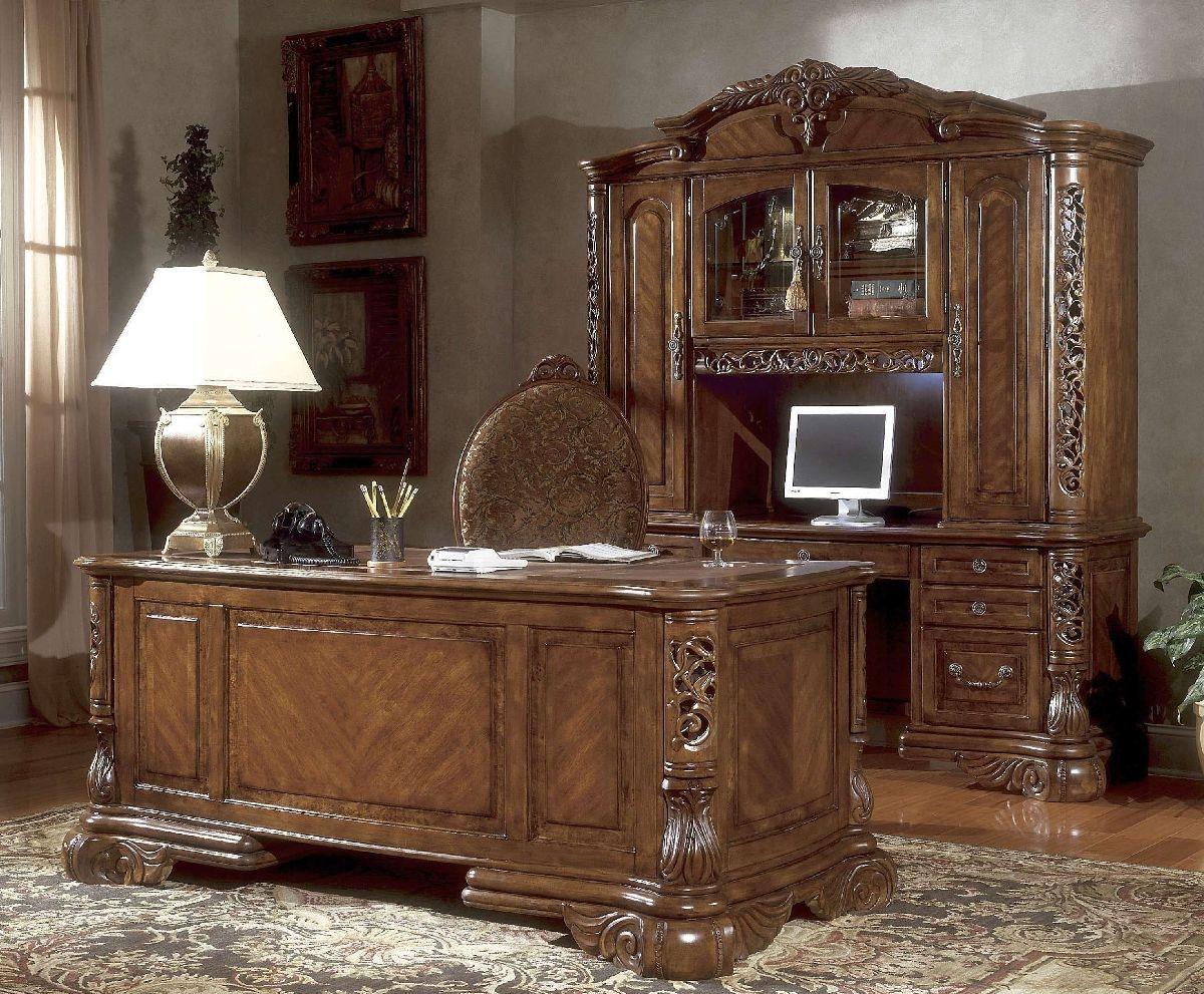 Desk Credenza Hutch 8