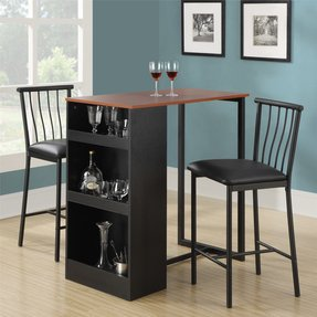 Dorel Asia 3-Piece Counter Height Bar Set
