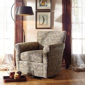 Upholstered Swivel Living Room Chairs Foter