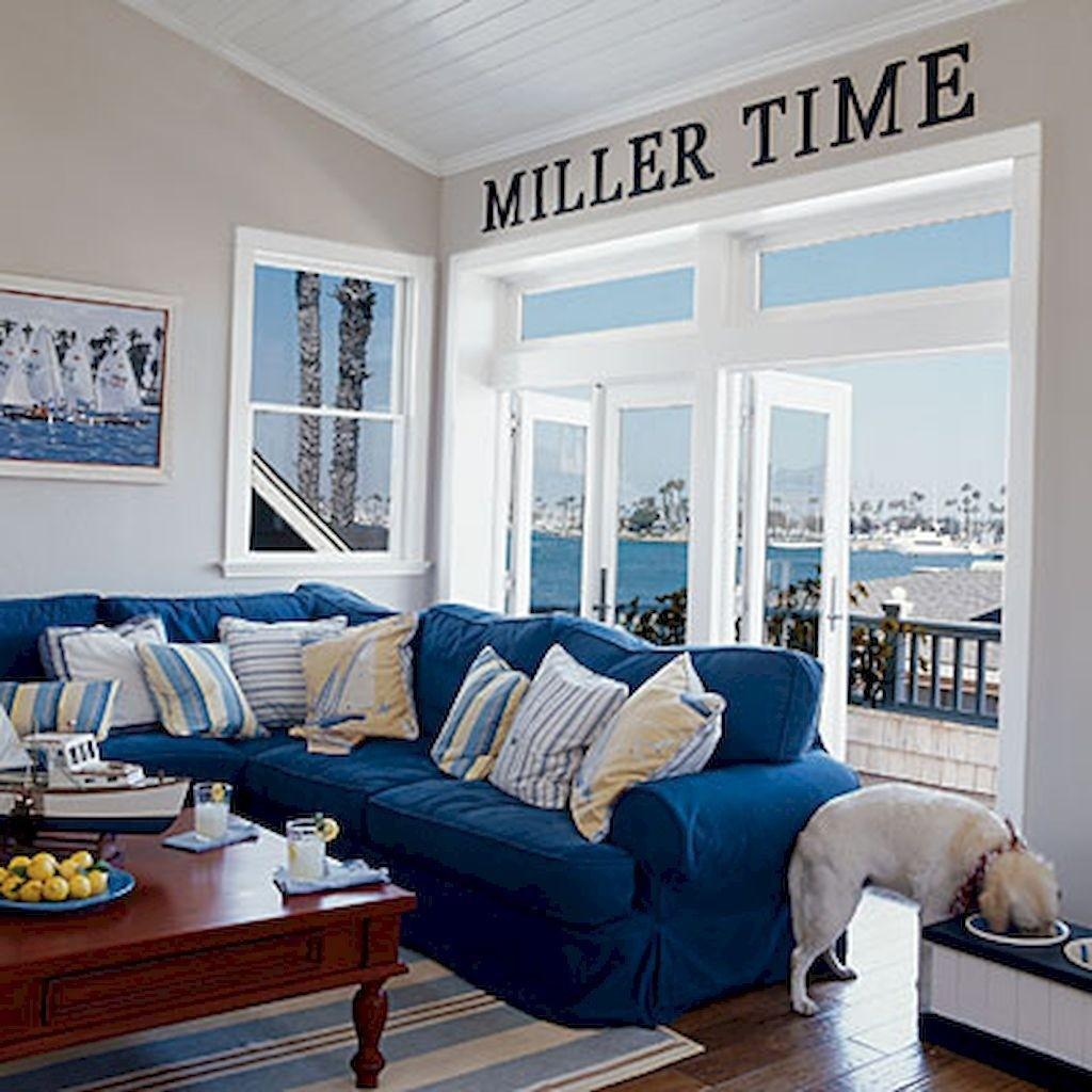 Electric Blue Sofa