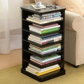End Table Bookshelf 1