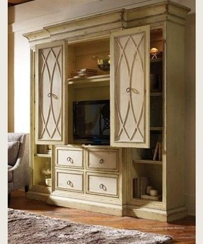 entertainment armoire with doors foter. Black Bedroom Furniture Sets. Home Design Ideas