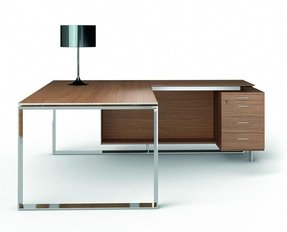 Executive desk with return 12