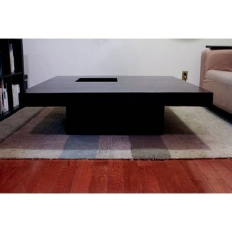 Extra large square coffee table