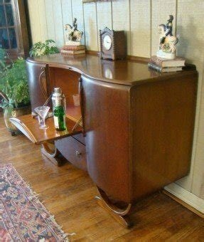 Fold Out Bar Cabinet 6