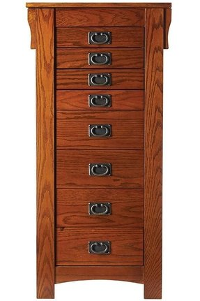 Free standing jewelry armoire 4