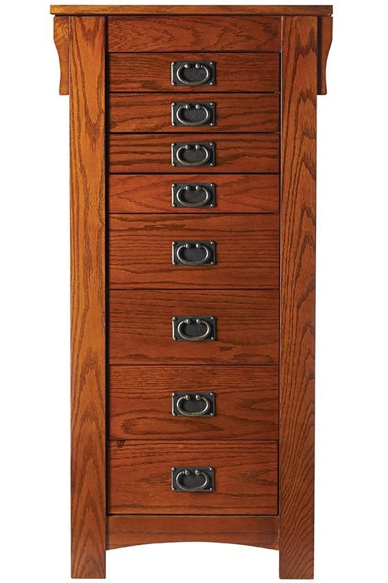 Etonnant Free Standing Jewelry Armoire 4