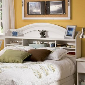 Full bookcase headboard 18