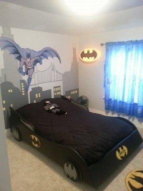 Full Size Batmobile Bed