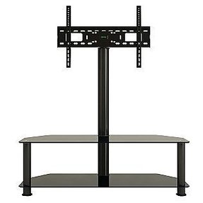 Glass and metal tv stands 2