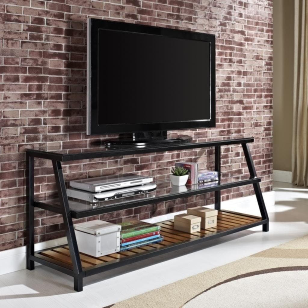Glass Metal Tv Stand 259