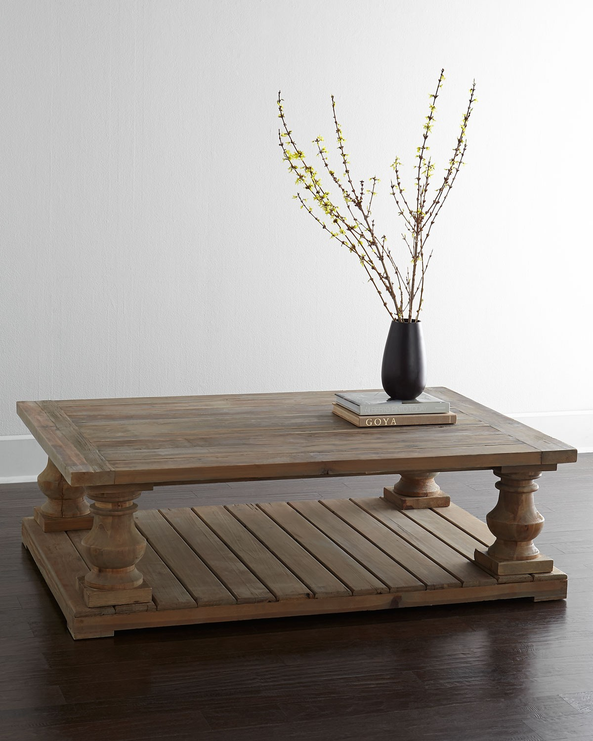 Gray Wash Coffee Table