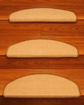 Ideal Euro Sisal Stair Treads - Set of 13