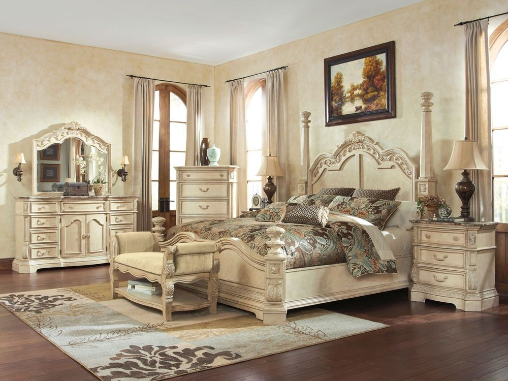 King Poster Bedroom Set - Foter