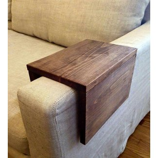 L shaped sofa table