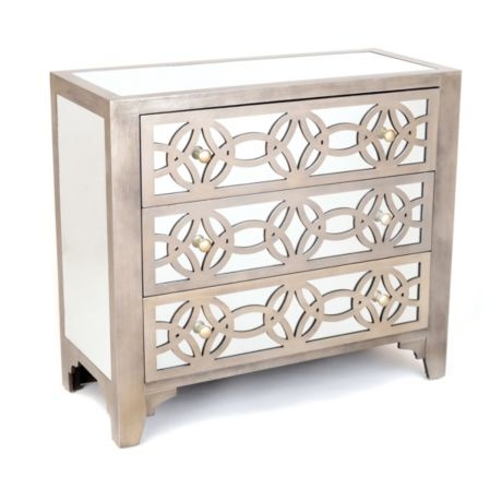 Beau Large Silver Chest Of Drawers
