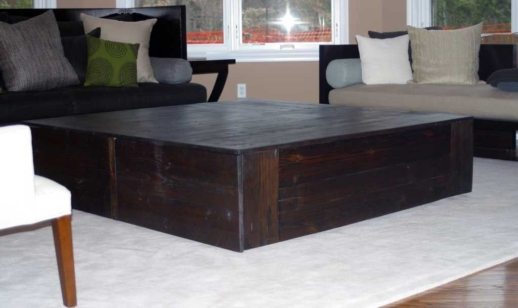 Large Square Coffee Table 2