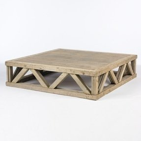 Large square wood coffee table foter large square wood coffee table watchthetrailerfo