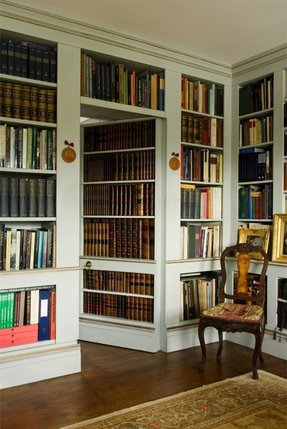 Library Bookcase With Doors Foter