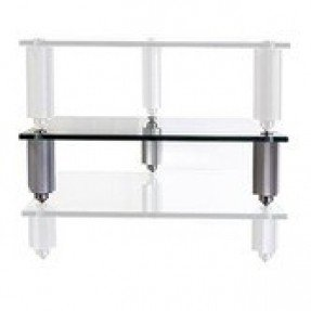 Lovan legacy audio stand 7 posts with glass shelf